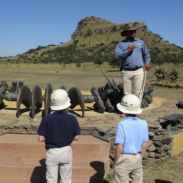Childrens Battlefield Tours an activity to enjoy whilst on a family safari holiday at Fugitives Drift Lodge & Guest House, KZN, South Africa